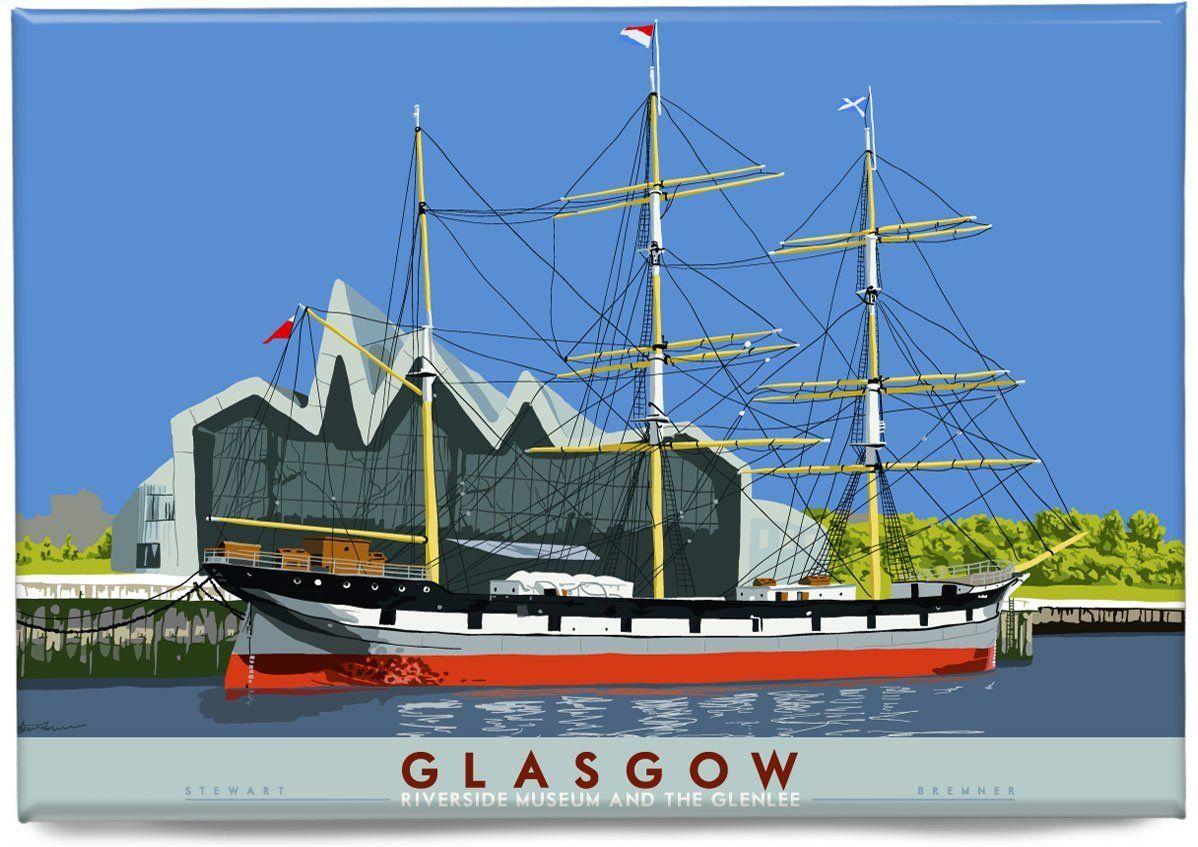 Glasgow: Riverside Museum und Glenlee – Magnet – natürlich