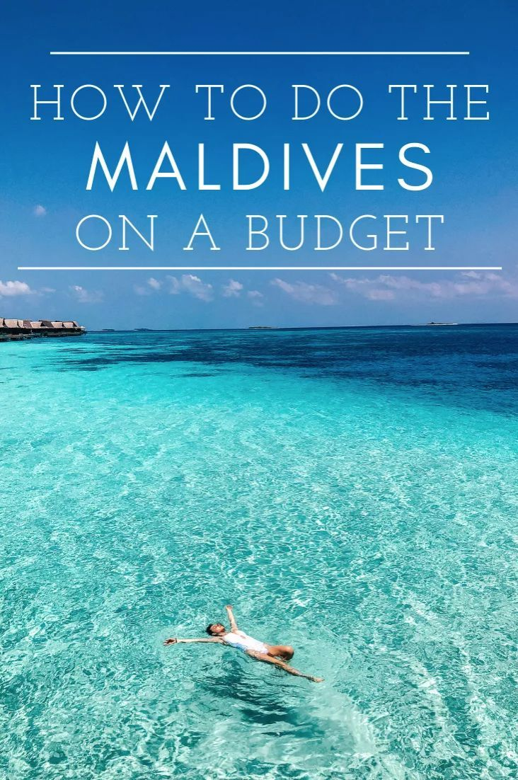 Yes, it is possible to travel to the Maldives on a budget! Read more for a complete Maldives planning vacation guide, which includes transportation, hotel, beach and budget deets. Whether you visit the island to stay in an all inclusive resort, a water villa or a bungalow, you can't go wrong. lindsaysilberman.com/travel/maldives-honeymoon-vacation-planning-tips/ #Maldives #Vacation #TravelGuide #TravelInspo #TravelTips