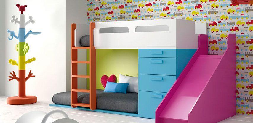 Tienda De Mobiliario De Diseno Y Calidad En Barcelona Especializados En La Venta De Mueble Habitaciones Infantiles Literas Infantiles Diseno De Cama Para Ninos