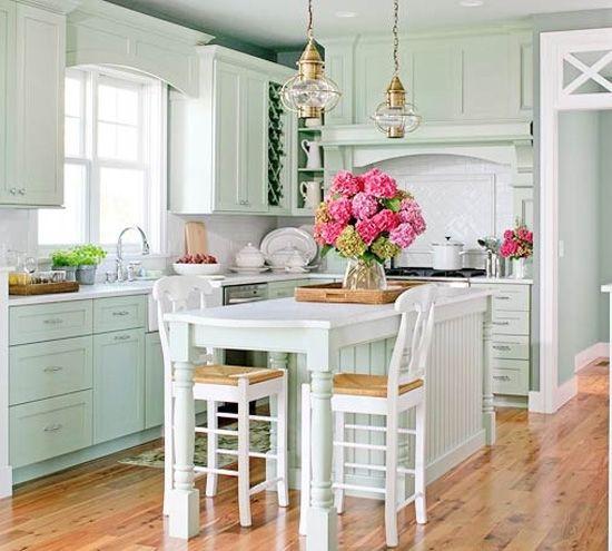 color love mint green kitchen inspiration pinterest mint