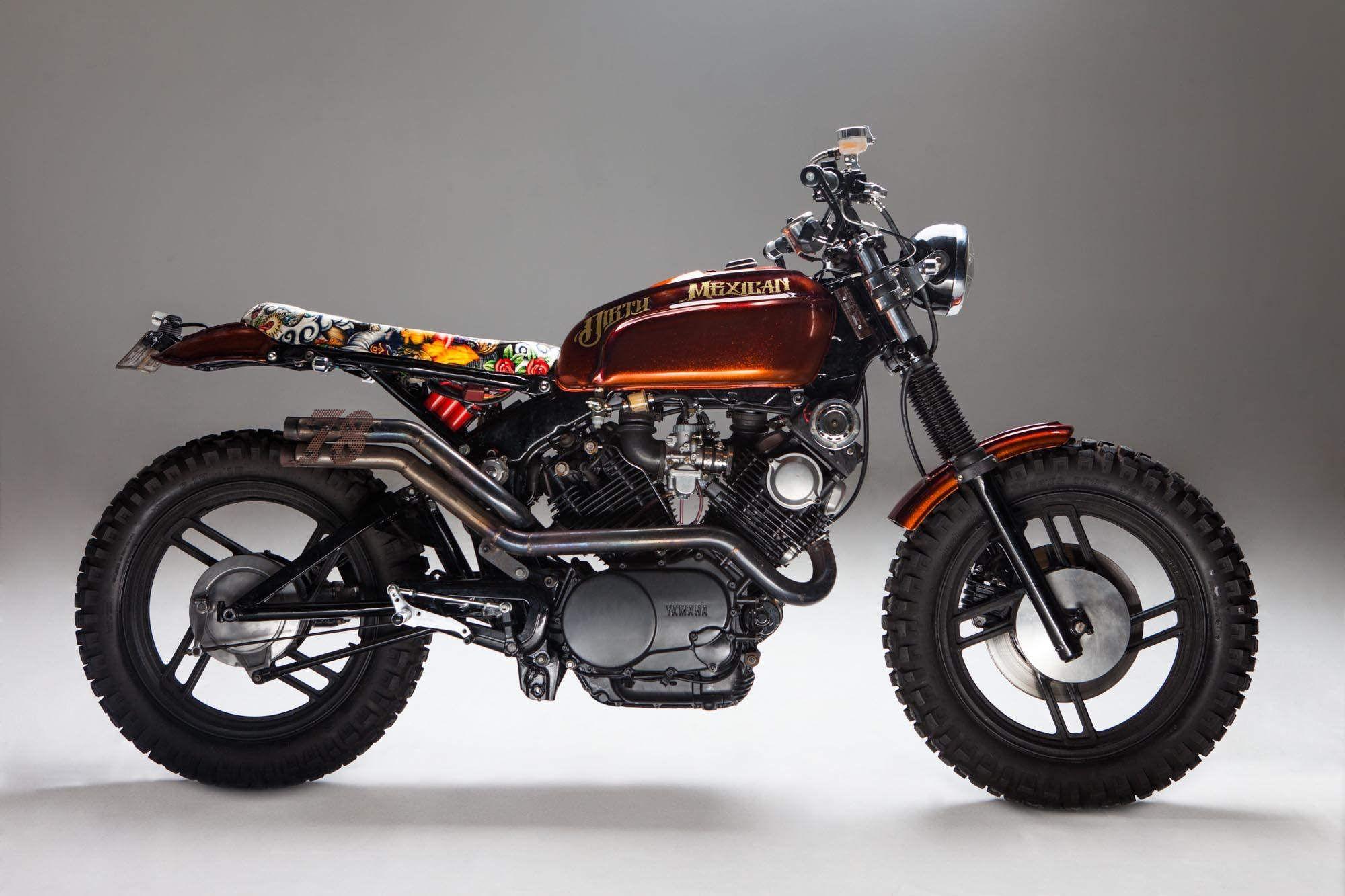Yamaha XV750 Cafe Racer Tracker Custom Built Virago
