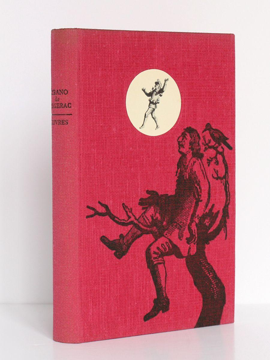 """""""Œuvres"""" de CYRANO DE BERGERAC, édition établie par Georges RIBEMONT-DESSAIGNES, publiée en 1957 par le club français du livre."""