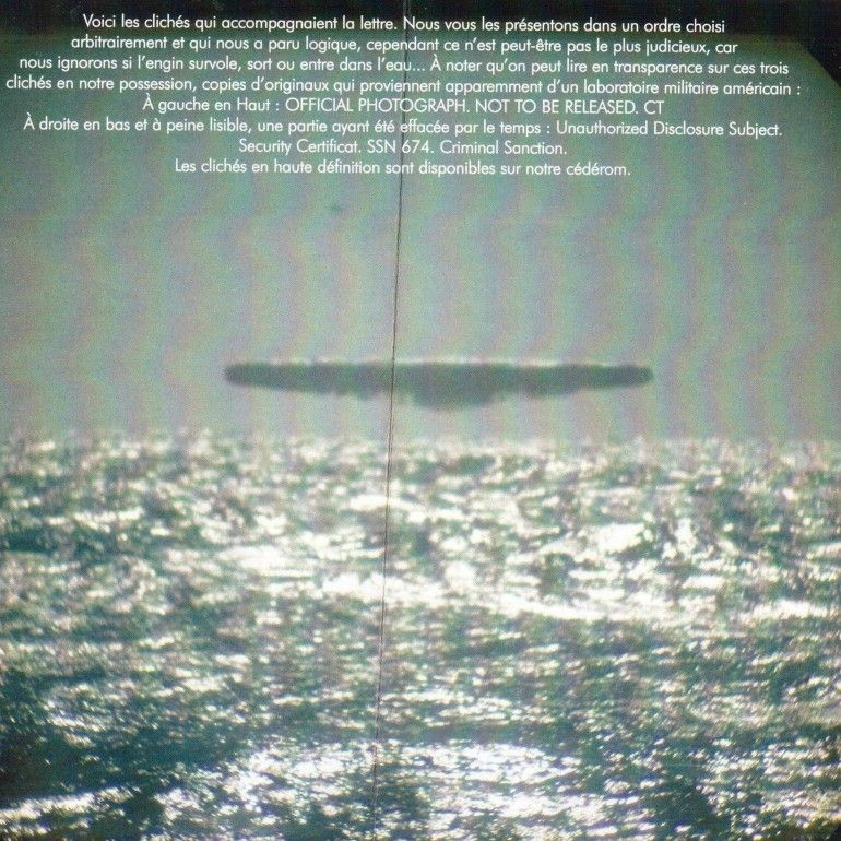 Photo of Arctic UFO Photographs, USS Trepang, SSN 674, March 1971 – The Black Vault Case Files