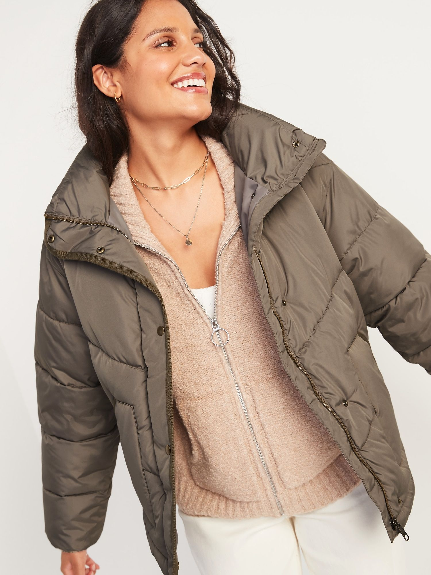 Quilted Utility Puffer Jacket For Women Old Navy In 2021 Jackets For Women Puffer Jacket Women Puffer Jackets [ 2000 x 1500 Pixel ]
