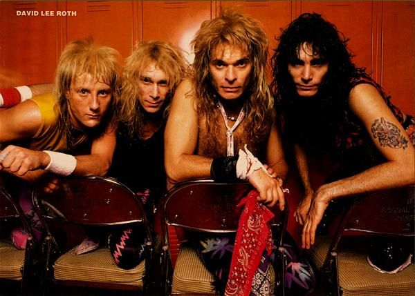David Lee Roth Band 1986 David Lee Roth Steve Vai Greatest Rock Bands