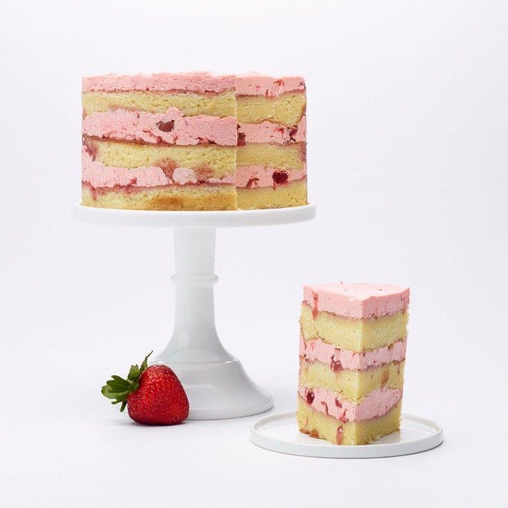 Strawberry Vanilla Cake-Gluten Free | Dean & DeLuca | Cake ...