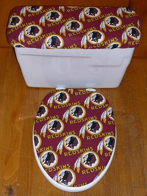 Washington Red Skins Toilet Seat Cover And By Kimsclassycommodes