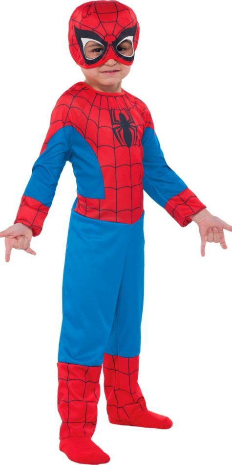 Toddler Boys Classic Spiderman Costume - Party City  sc 1 st  Pinterest & Toddler Boys Classic Spider-Man Costume   Spiderman costume Toddler ...