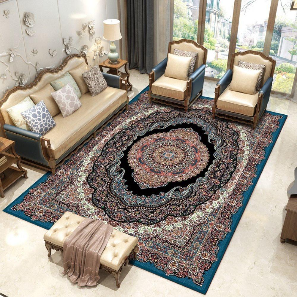 Iran Persian Carpet Livingroom Large Rectangle Carpet Bedroom Sofa Coffee Table Rug Study Room Floor Mat Home Decorative Rugs Persian Carpet Living Room Living Room Carpet Coffee Table Rug
