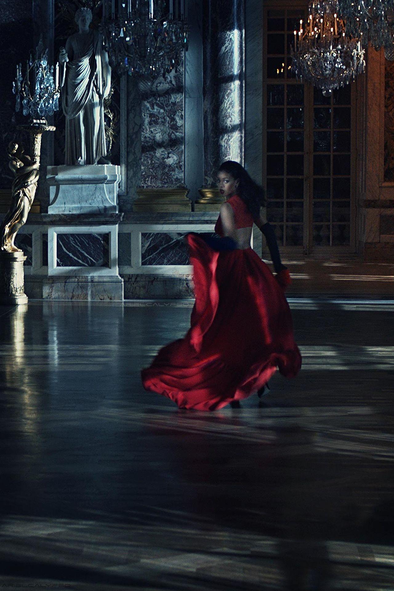 bb62c3177b28 Rihanna by Steven Klein for Dior Secret Garden 2015  Château de Versailles