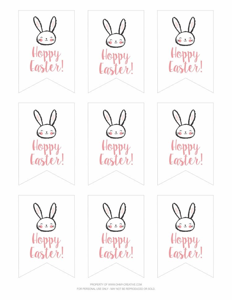 Free printable hoppy easter gift tags classroom treats hoppy free printable hoppy easter gift tags add a special touch to any gift you share this easter baked goods flowers candy or classroom treats negle Images