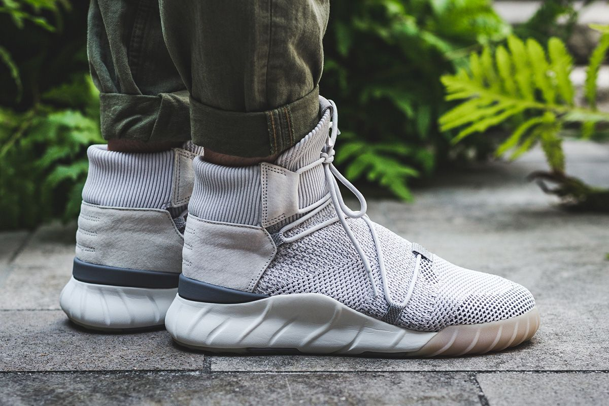 newest 3d1c3 072bd On-Foot  adidas Tubular X 2.0 Primeknit  Grey One  - EU Kicks  Sneaker  Magazine