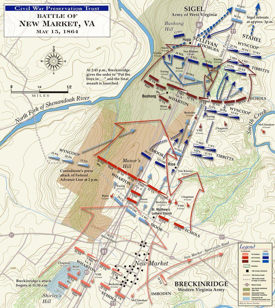Civil War New market  The Battle of New Market  Civil War