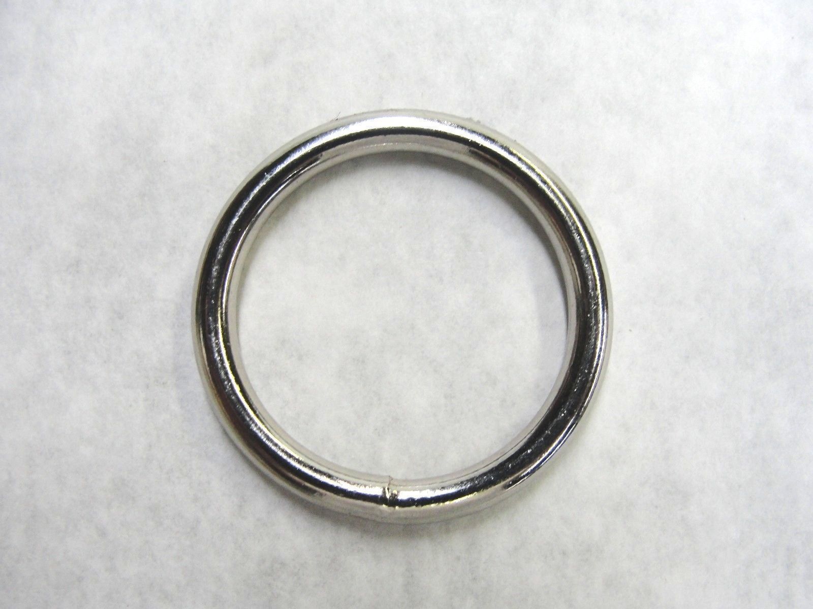 25mm//1inch Internal Diameter Heavy Metal Ring Four Welded