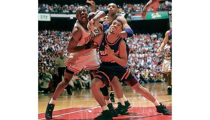 Converse Run N Slam vs. Jordan VIII Year: 1993 Matchup: MJ vs. Kevin Johnson