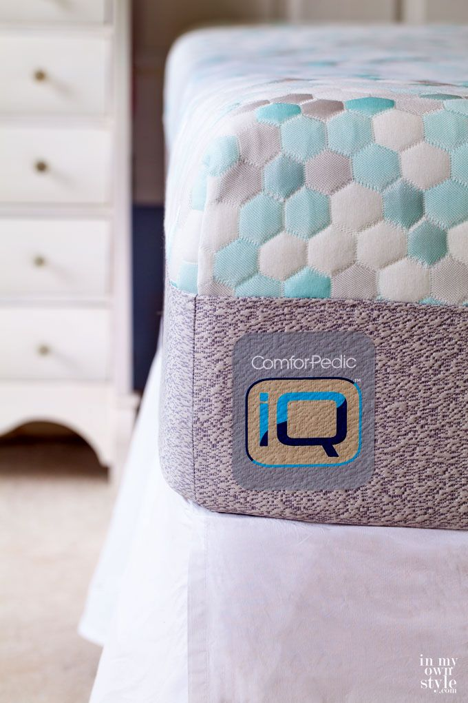 comforpedic iq mattress design