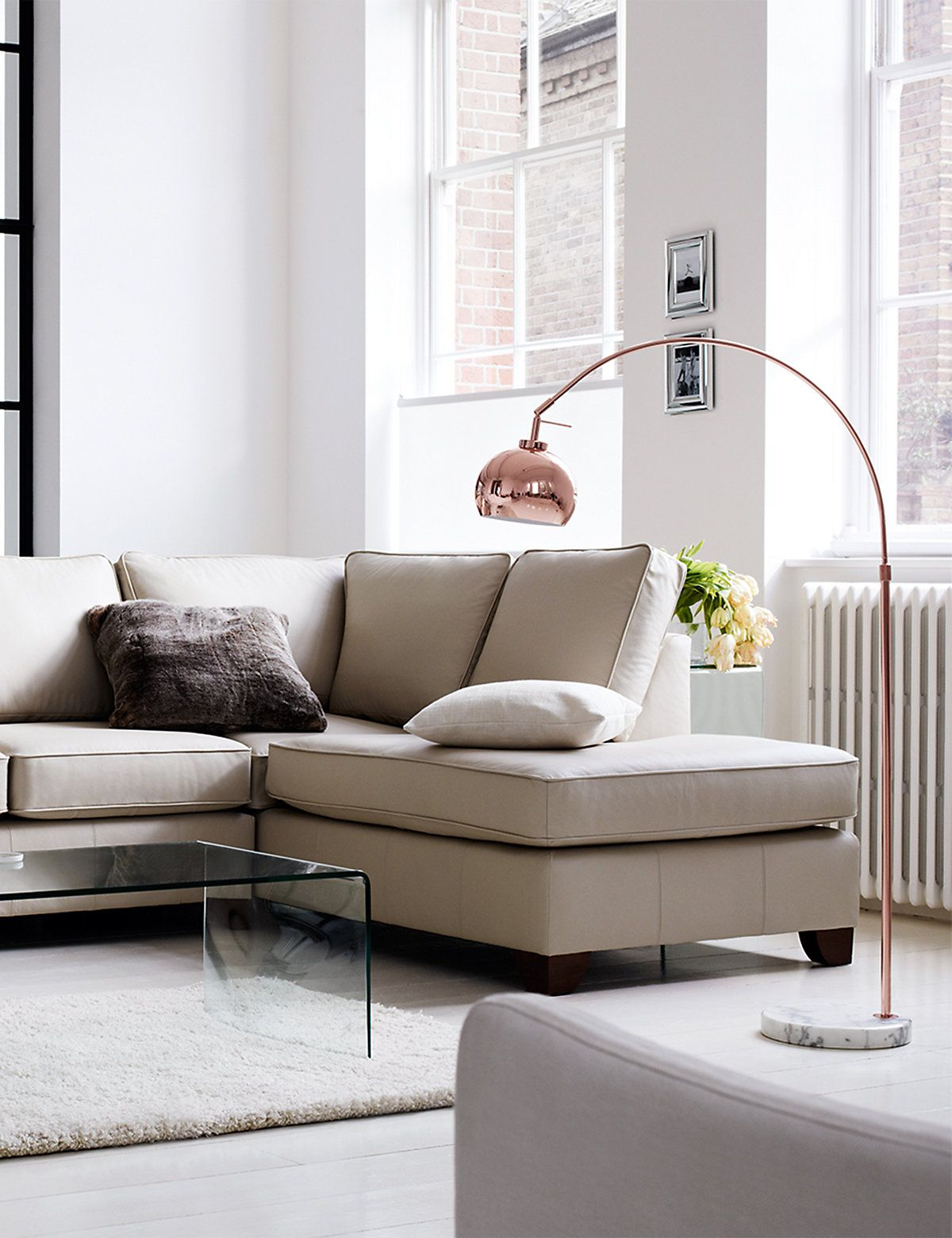 Large curve floor lamp ms living room entry way pinterest copper curve floor lamp ms aloadofball Gallery