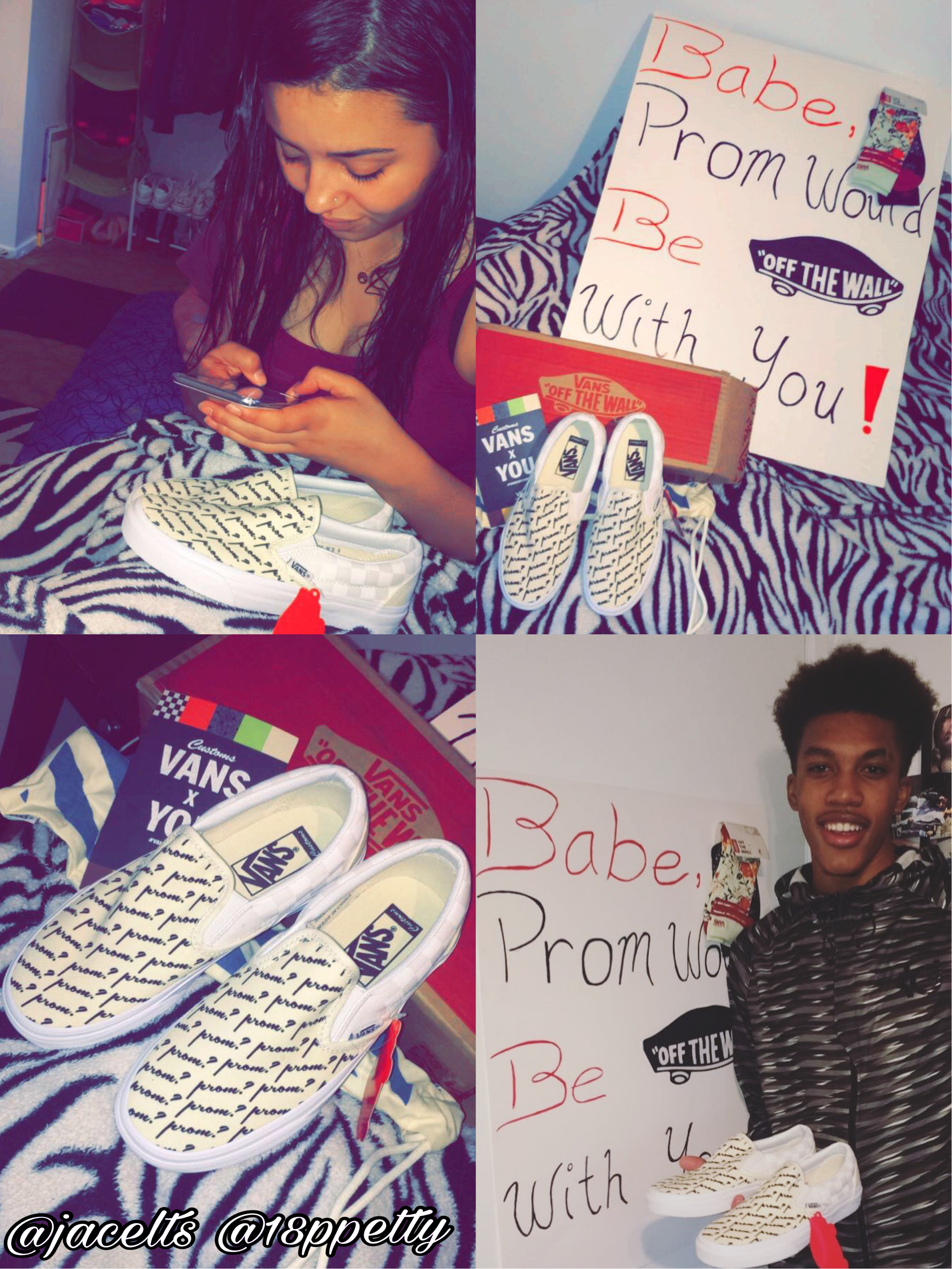 Absolute Best PROMPOSAL Ever! #prom #promposals #vans #prompicturescouples #promproposal