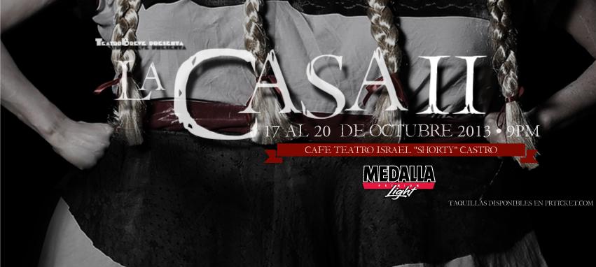 "La Casa 2 @ Teatro Israel ""Shorty"" Castro, San Juan #sondeaquipr #lacasa2 #teatroisraelshortycastro #sanjuan #teatrobreve"