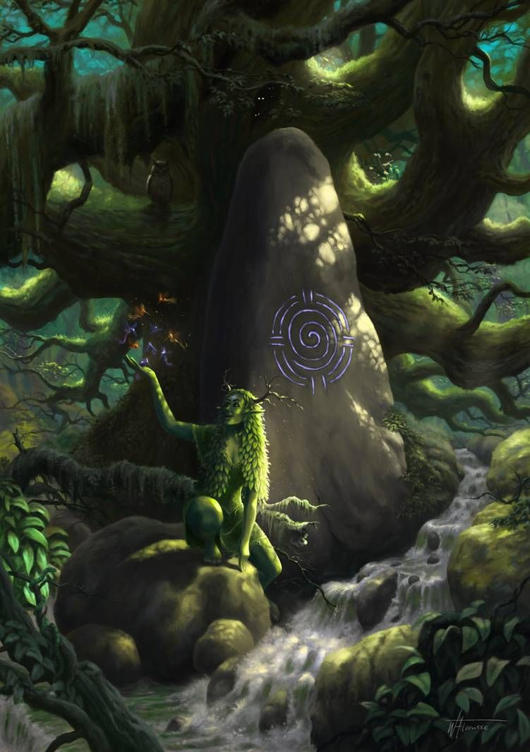 Photo of Dryad by woutart on DeviantArt