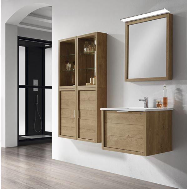 Meuble salle de bain suspendu Tino60 de Valenzuela Meuble avec