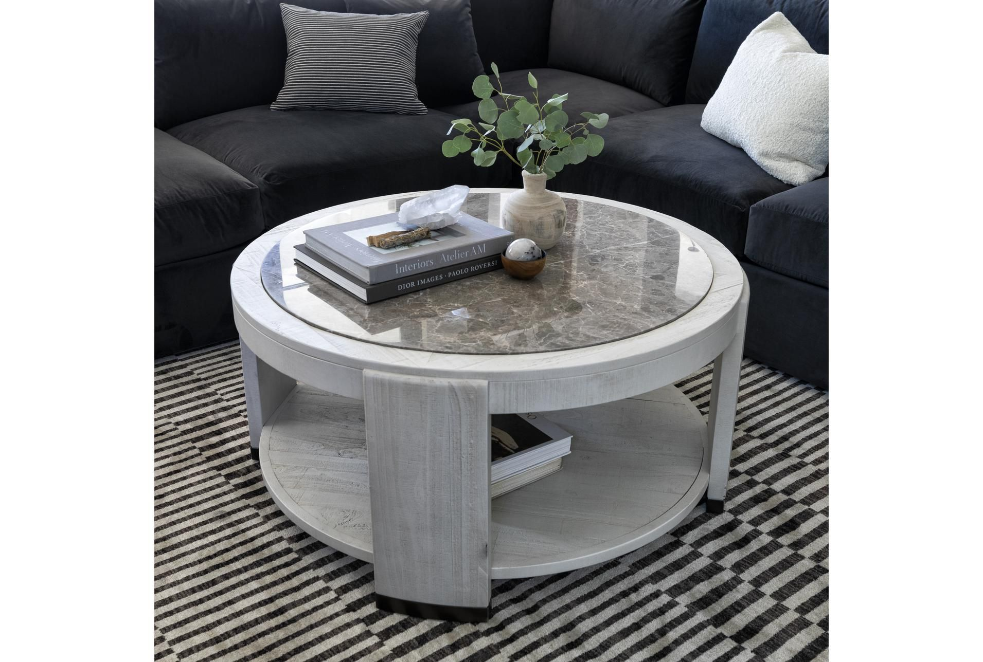 Centre Round Coffee Table By Nate Berkus And Jeremiah Brent In 2021 Round Coffee Table Coffee Table Nate And Jeremiah [ 1288 x 1911 Pixel ]