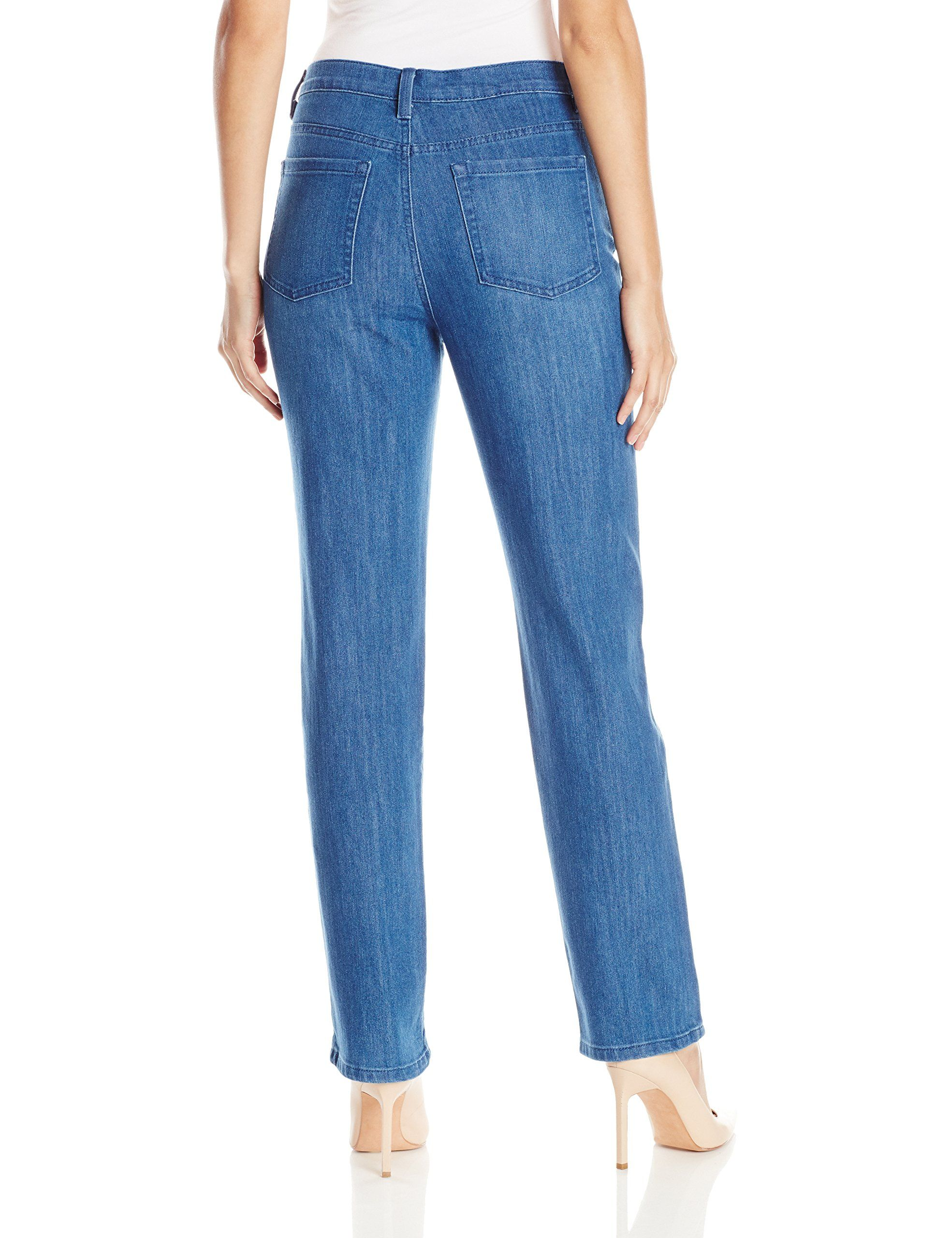 4cbf2e1bd5f Gloria Vanderbilt Womens Amanda Stretch Denim Straight Leg Jean Sparrow 10    Check out this great product.-It is an affiliate link to Amazon.  jeans