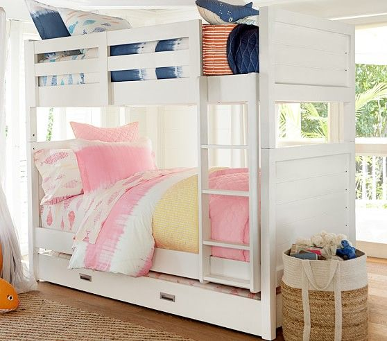 Pottery Barn Emery Bunk Bed 1599 Each 399 Trundle 20
