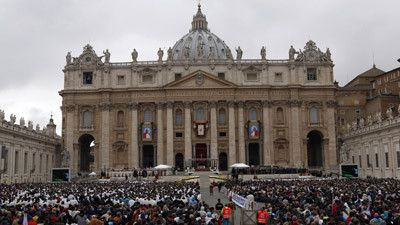St. Peter's Canonization of 2 Popes 2014