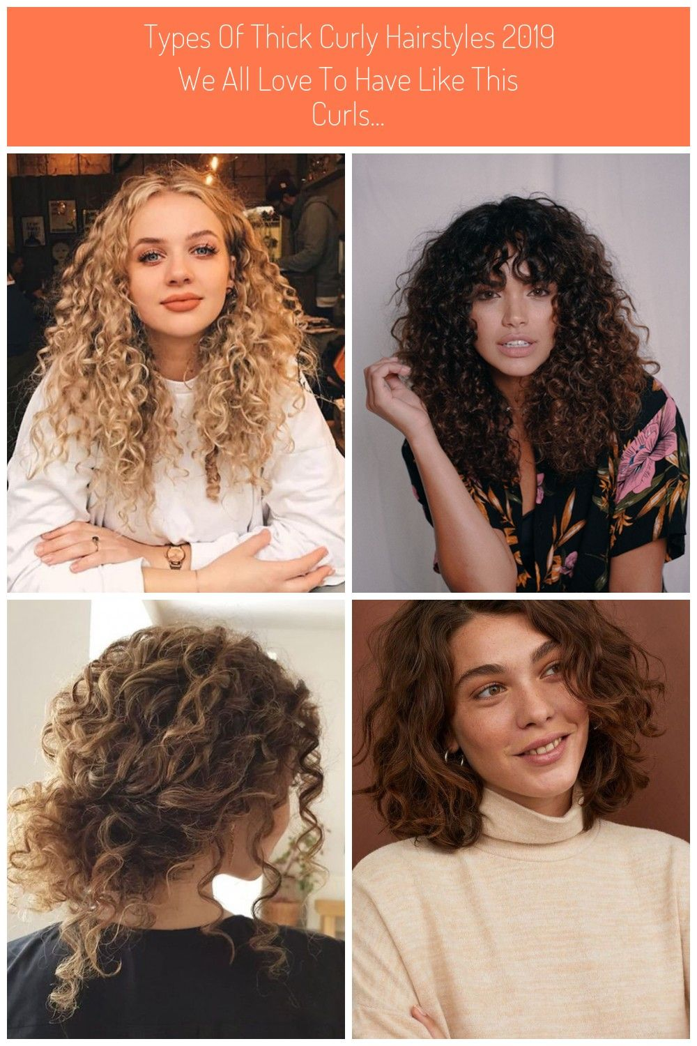 Types Of Thick Curly Hairstyles 2019 We All Love To Have Like This Curls Curly Hair Styles Long Silky Hair Hair Styles