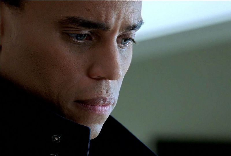 Michael Ealy as Dorian from Almost Human, Season 1, Episode 2 - Skin