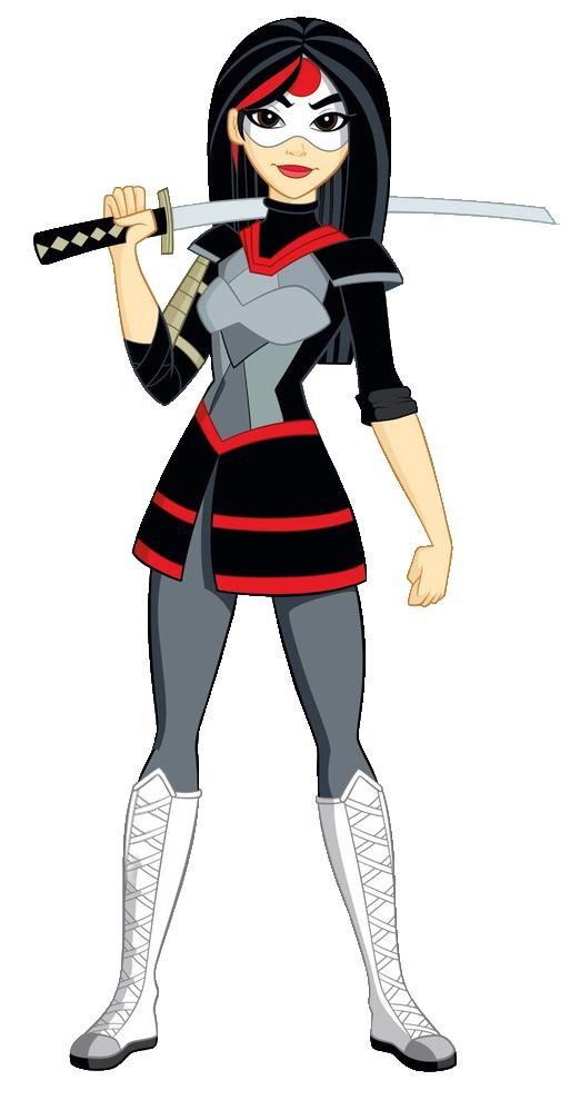 Katana. Basic. New Profile art dc superhero girls