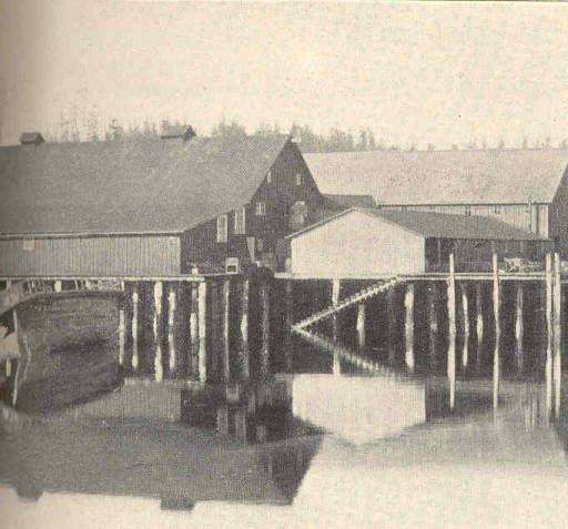 Oil and Guano Factory at Killisnoo :: Freshwater and Marine Image Bank