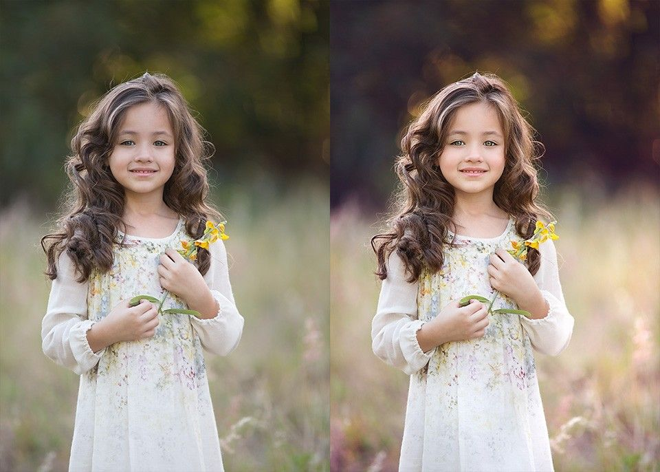 Portrait Photoshop Actions - Child & Family Portrait Actions