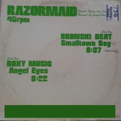 "bring the 80's back bronski beat smalltown boy. on vinyl 12"""