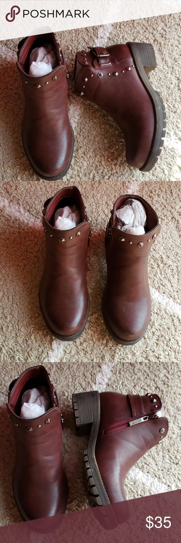 New dark burgundy ankle bootie Brand new Bootie never worn size 36 dejavu Shoes Ankle Boots & Booties #myposhpicks