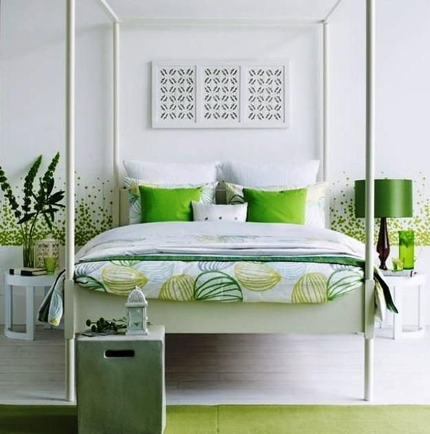green and white bedroom decorating ideas home design rh realcalgaryhomes com