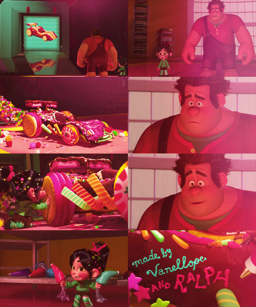 The revealing of Vanellope's car