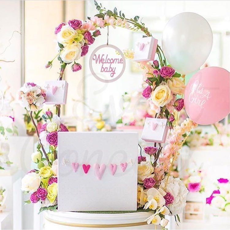 a super cute baby welcoming party by the talented decorandoemocoes