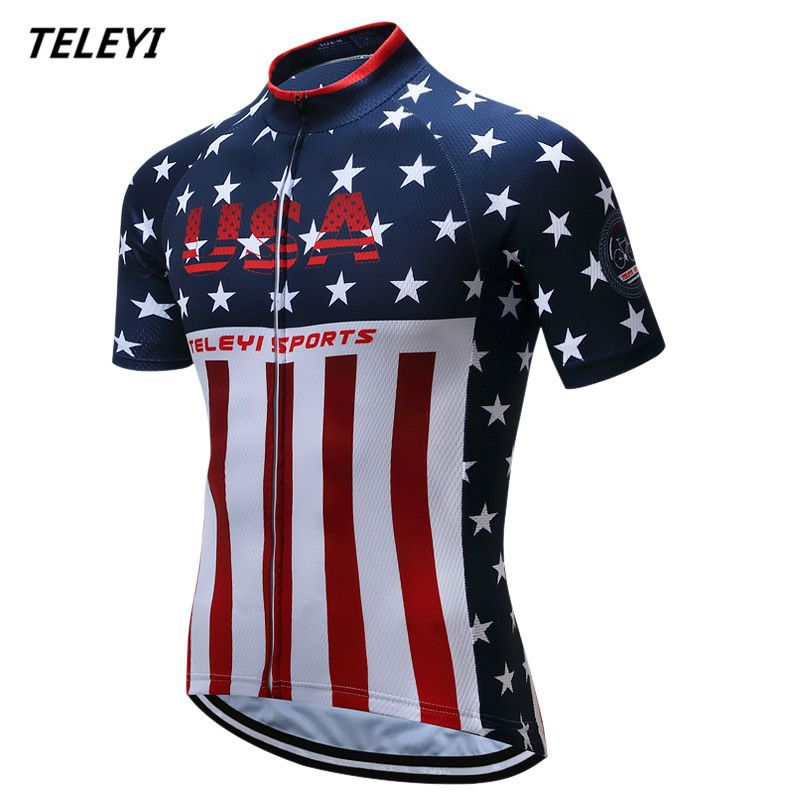 Like and Share if you want this Teleyi Sport Bike Team Racing Cycling Jersey  Tops Summer Bicycle Cycling Clothing Ropa Ciclismo Breathable MTB Bike  Jersey ... 530a90c51