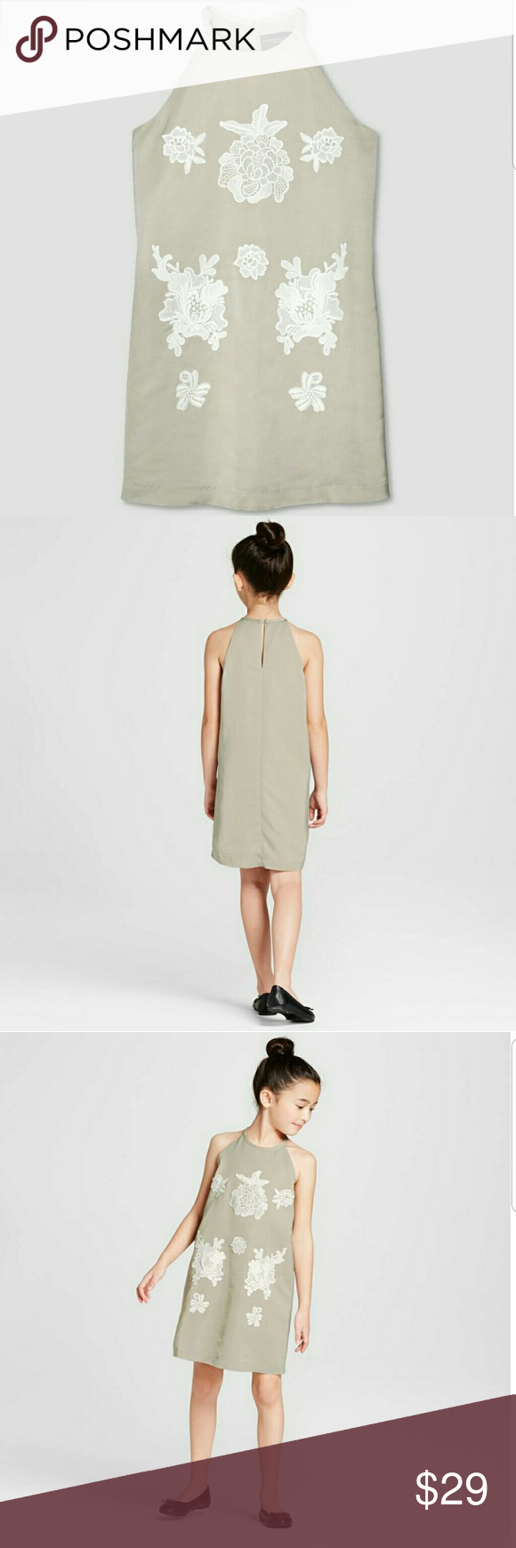 Victoria Beckham For Target Sage Green Dress Nwt This Is A Girls Size Xl 14 16 Based On The Size Chart This Can Target Dresses Sage Green Dress Timeless Dress [ 1740 x 580 Pixel ]