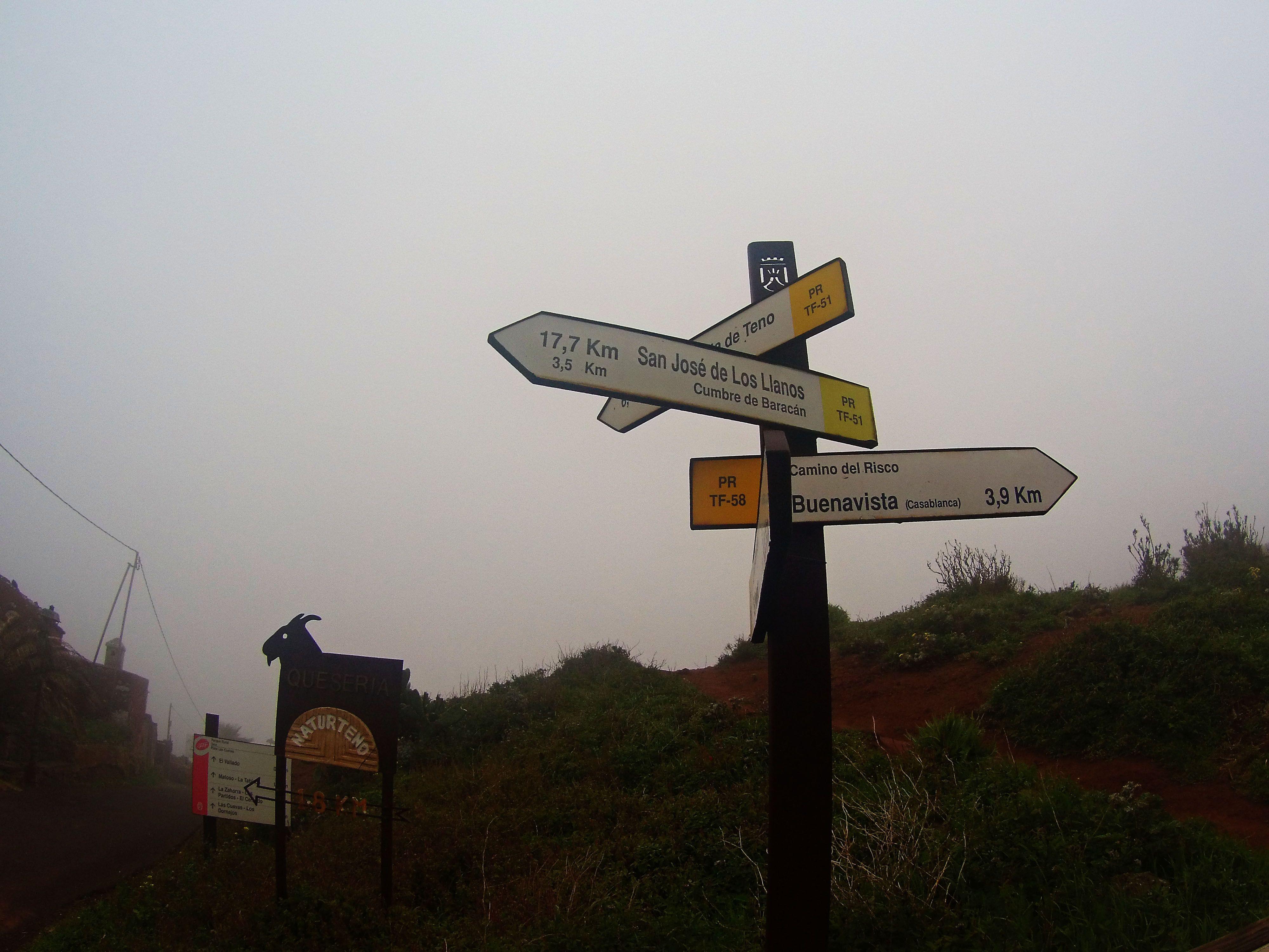Senderos y Caminos, Teno, Tenerife