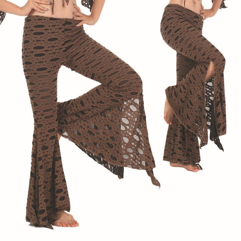 2015 Cheap Tribal Belly Dance Pants Chiffon for Women on Sale NMMP79