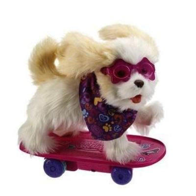 Furreal Friends Trixie The Skateboarding Pup Fantasias Infantis Brinquedos Infantil