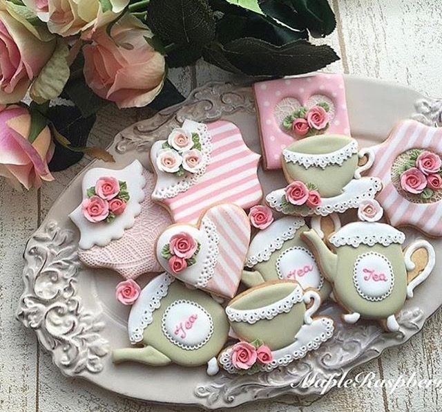Striped Cookies