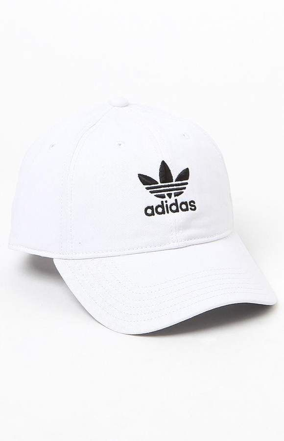 Trascendencia contraste patata  adidas Washed White Strapback Dad Hat at PacSun.com | Dad hats, Adidas cap,  Adidas hat outfit