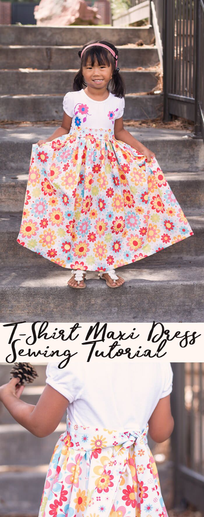 Maxi dress pattern sewing tutorial from life sew savory easy sewing