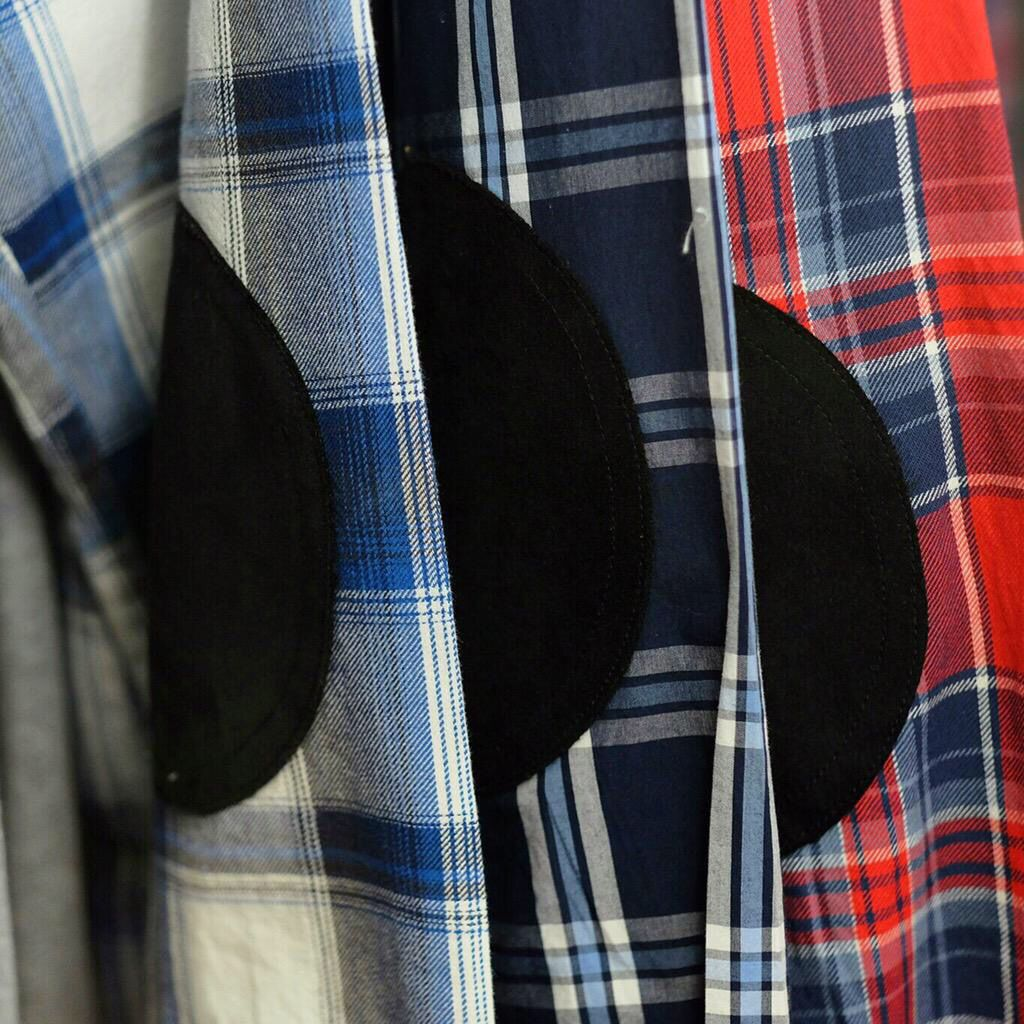 Grungy Gentleman all season flannels with suede elbow patches. @GrungyGMedia