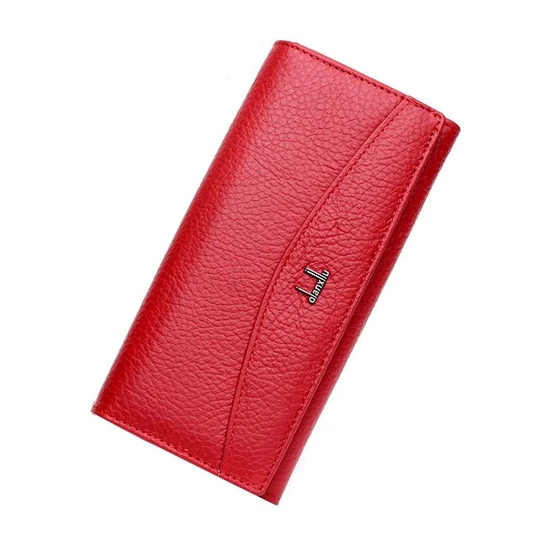New Brand 100% Genuine Leather Wallet For Women High Quality Coin Purseintothea #leatherwallets