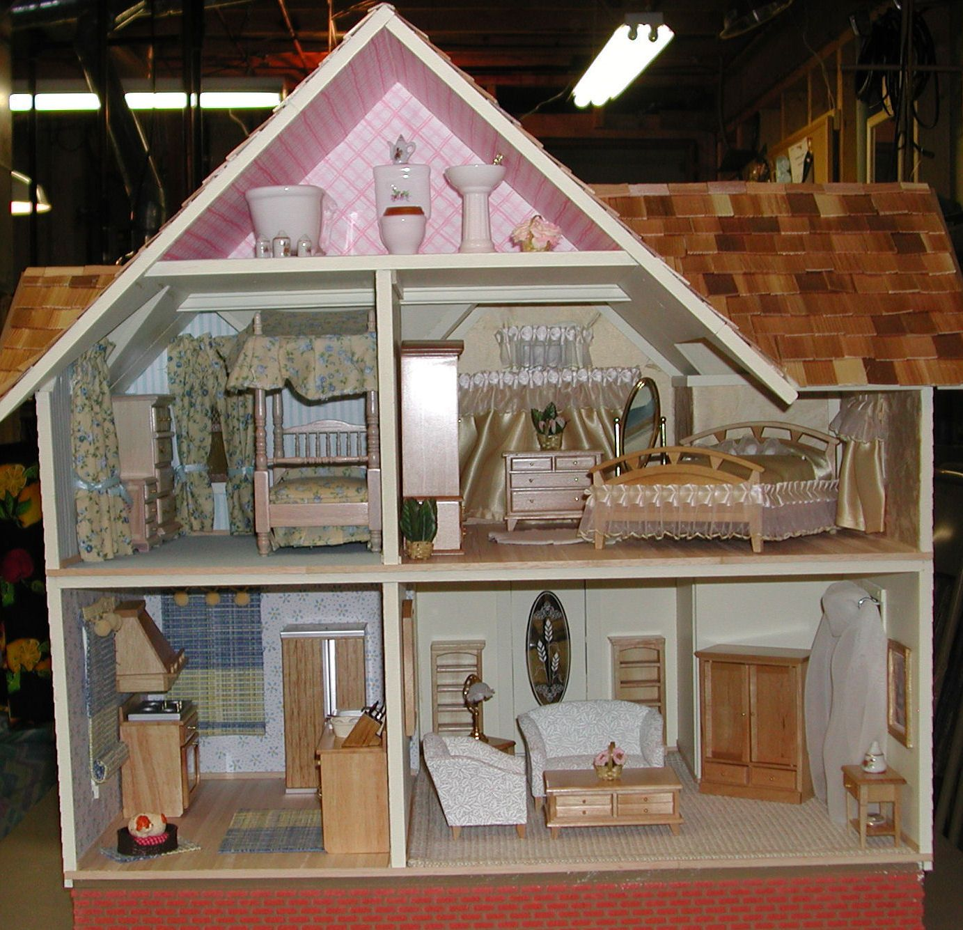 Brynne 39 S Doll House Interior Miniatures Pinterest